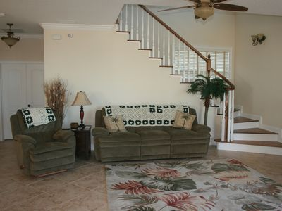 Flagler Beach house rental - Take a nap or view the ocean from the french doors.