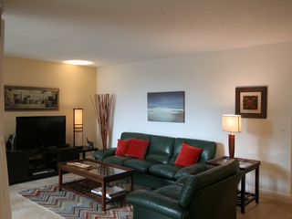 "Delray Beach apartment photo - Leather furniture with 42"" flat screen TV"