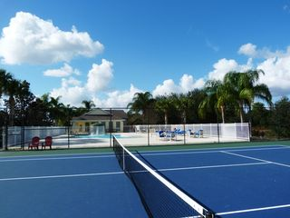 Glenbrook Resort villa photo - Glenbrook tennis and pool area. Jacksonvilla right next door to the Clubhouse.