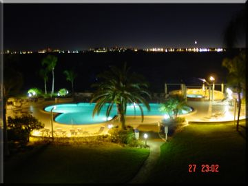 St Pete Beach condo rental - Lanai View At Night