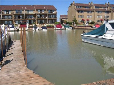 30' boat slip that accompanies condo