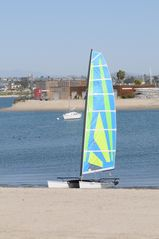 Mission Beach condo photo - Rent a catamaran for an afternoon sail around the bay