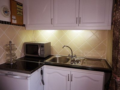Mijas apartment rental - Microwave, fridge/freezer