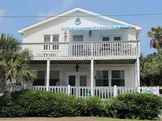 Folly Beach house rental - Sea Spot Front Porches