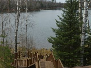 Minocqua cabin photo - Multi Level Deck