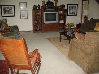 Burnsville cabin photo - Large Family Area
