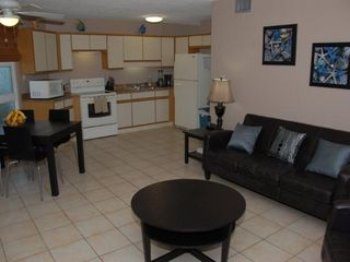 Grand Cayman condo photo - Open concept living & kitchen area