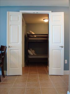 Bunk Room with Doors for Privacy