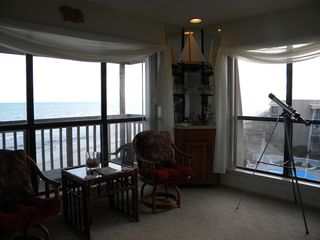 North Topsail Beach condo photo - Sitting and Bar area in Living Room