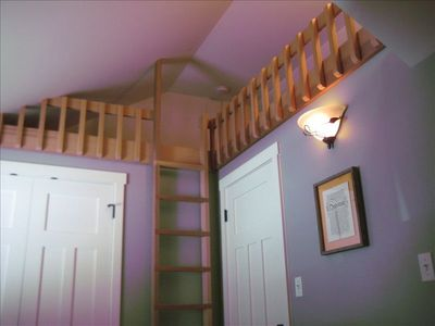 Ladder to the Sleeping Loft