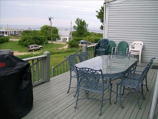 Block Island house photo - Side Deck