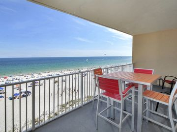 Gulf Shores condo rental - Breathtaking Views, Great Outdoor Furniture, bring Binoculars to Watch Dolphins