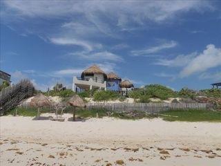 Tulum villa photo - Welcome to your chariming Holiday home in Paradise