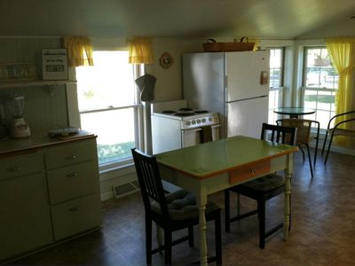 Another view of our kitchen over looking Lake Pepin!
