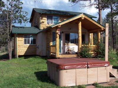 Wilderness Cabin - 3 bedroom, 2 bath,