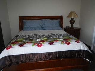 Cayman Brac townhome photo - .King size bed in master bedroom.