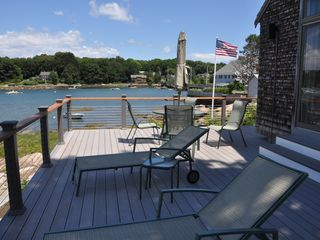 Gloucester - Annisquam house photo - View of Lobster Cove from the deck