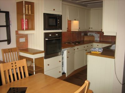 Whitby cottage rental - Kitchen in No2 Croft Farm