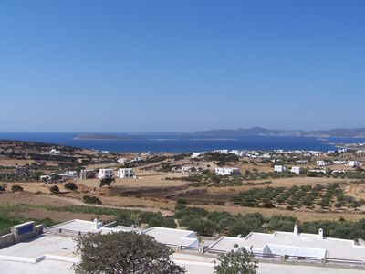 Paros villa rental - view from terrace