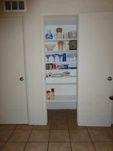 Pantry in Kitchen area