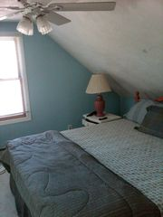 Osterville house photo - 2nd floor Master..king size bed with skylite