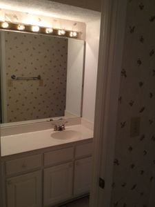 additional vanity area for the master bedroom- downstairs