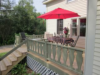 Lubec cottage photo - Deck
