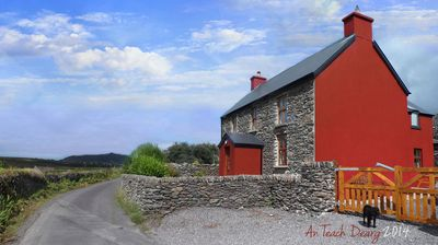 Stone Cottage, Minutes Walk from Beach, With Stunning Views of the Atlantic Ocea