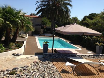 Calvi Swimming pool Villa 3 bedrooms 3 bathrooms