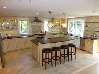 Biddeford house photo - Gourmet - all NEW steel, 2 ice makers, 2 sinks, 5 burner gas stove, wet bar