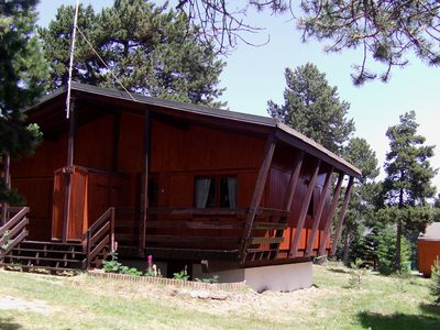 COMFORTABLE CHALET IN A SMALL TREE CLEARING in PYRENEES 2000