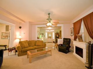Austin house photo - Nice, roomy main living area ... opens to formal living, office and dining room.