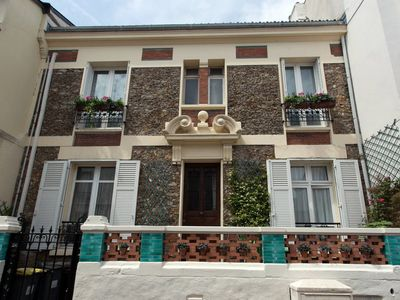 PARIS down the street, quiet, air-conditioned loft of 70 m², for 5 people