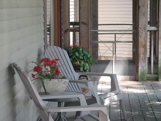 Elkhart Lake farmhouse photo - Read a book or just visit with each other.