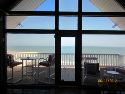 family/kitchen oceanfront viewing