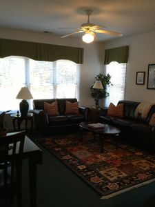 Sunset Beach townhome rental - Lower Level Living