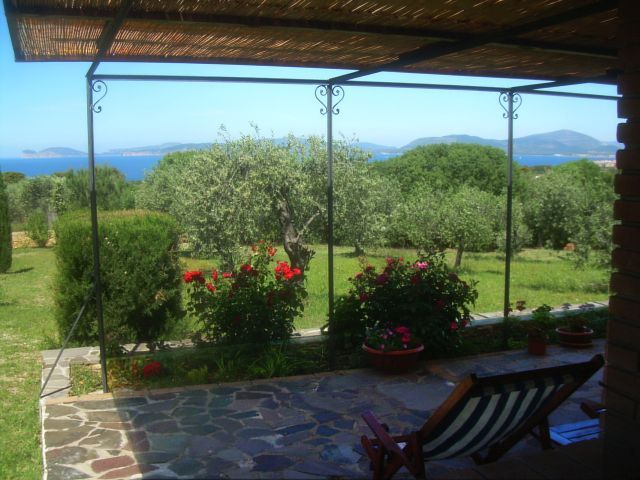 Estate of 19th century, sea view on Alghero Gulf, gardens of 6000 sqm - Narcisi house