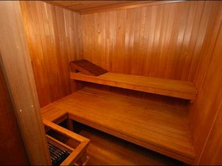 Stowe house photo - An Evening in the Sauna is Always Relaxing!