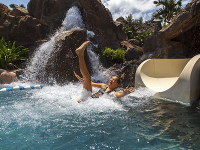 Pure joy for kids and adults alike - our guests utilize all of the Grand's pools