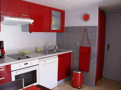 House T2 200m from the beach of fine sand of Saint Cyprien