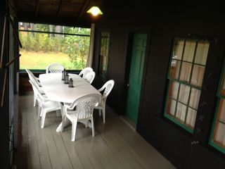 Kezar Lake cottage photo - Screened in Dining Porch