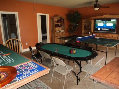 Nancy cabin rental - Game Room downstairs