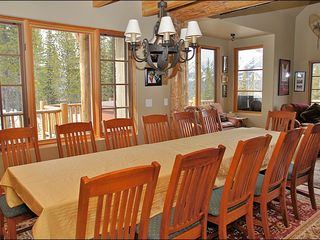 Big Sky townhome photo - Huge Dining or Game Table for 14