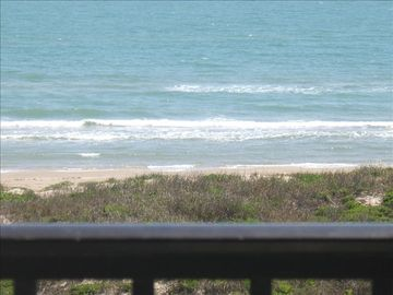 South Padre Island condo rental - Beach View from Balcony