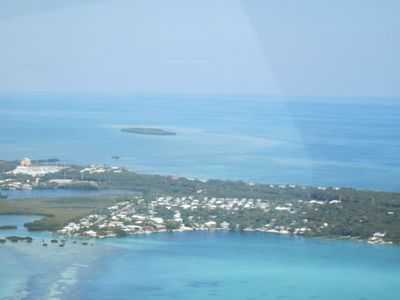 Aerial view of the Florida Keys!