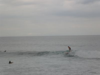 Surfing Beach La Pastora-3 minute drive away
