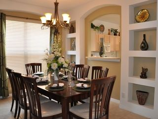 Emerald Island villa photo - formal dining room