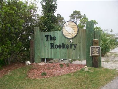 Entrance to The Rookery