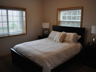 Neskowin townhome photo - Lower Bedroom facing Pacific Ocean