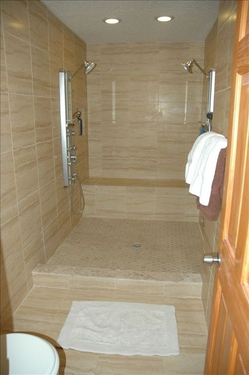 Master Bathroom With Double Spa Shower